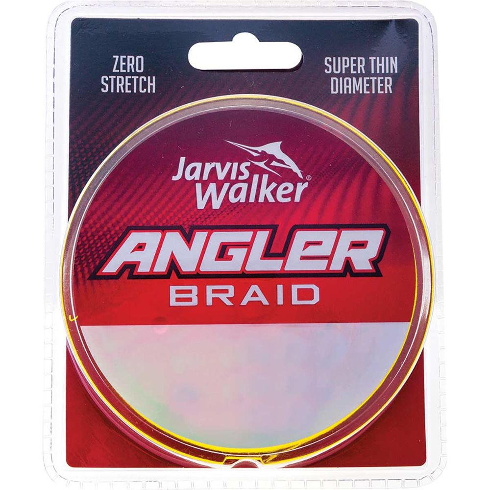 Jarvis Walker Angler 300yds Multicolour Braided Fishing Line