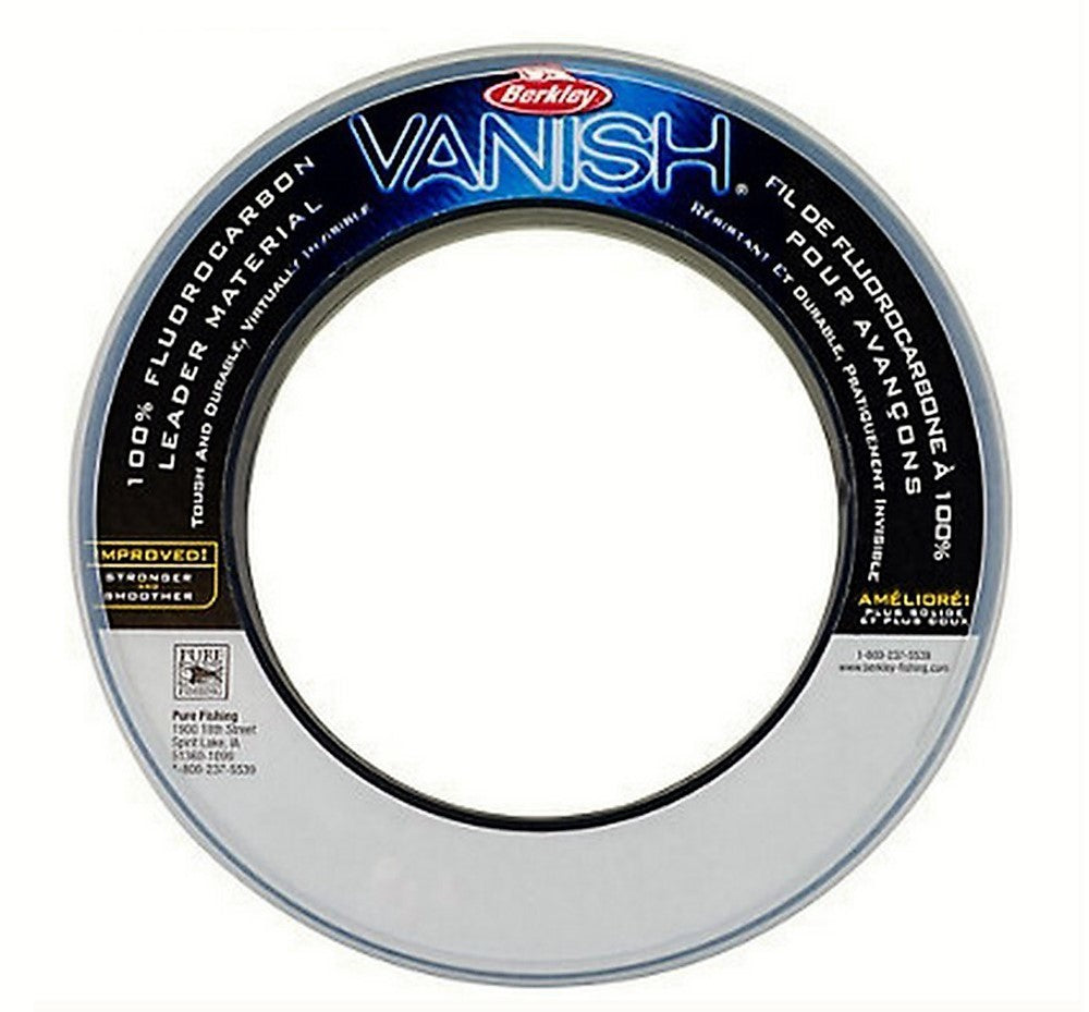 Berkley Vanish 100 Percent Fluorocarbon Leader