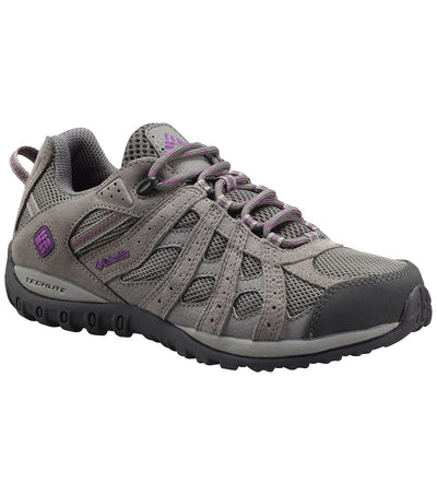 Columbia Redmond Low Waterproof Womens Hiking Shoes Charcoal Razzle