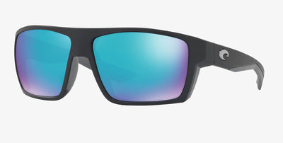 Costa Del Mar Bloke Matte Black Frame Polarised Sunglasses