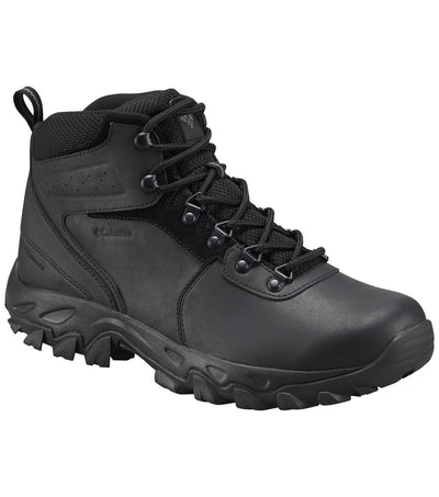 Columbia Newton Ridge Plus II Waterproof Mens Hiking Boots Black, Black