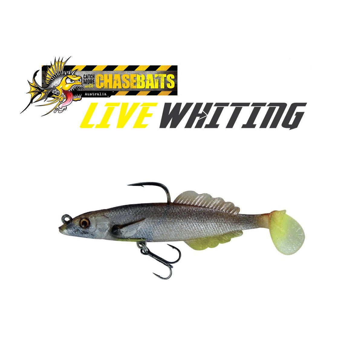 Chasebaits Live Whiting Soft Plastic Lures