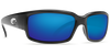 Costa Del Mar Caballito Black Frame Polarised Sunglasses - Blue Mirror Lense 400G