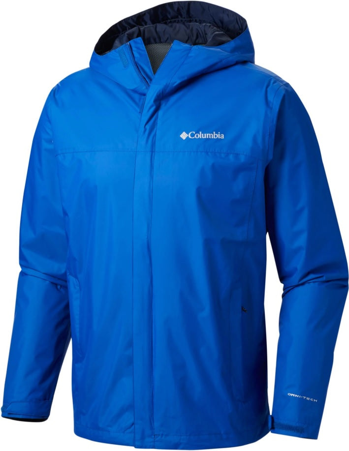 Columbia Watertight II Rain Jacket Mens Blue