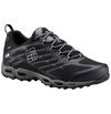 Columbia Ventrailia II Outdry Mens Hiking Shoe Black and Red Velvet