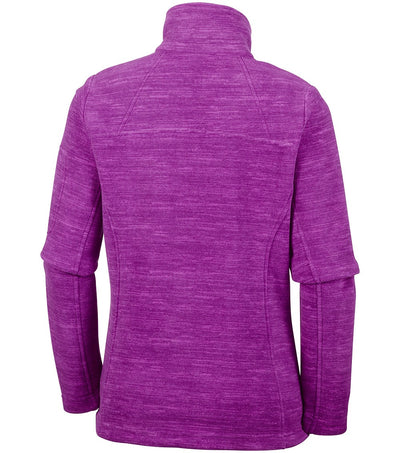 Columbia Fast Trek Womens Dark Raspberry Fleece Jacket