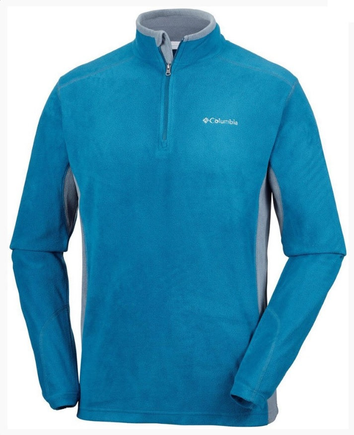 Columbia Klamath Range II Half Zip Fleece Mens Phoenix Blue