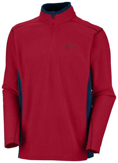 Columbia Klamath Range II Half Zip Fleece Mens Red