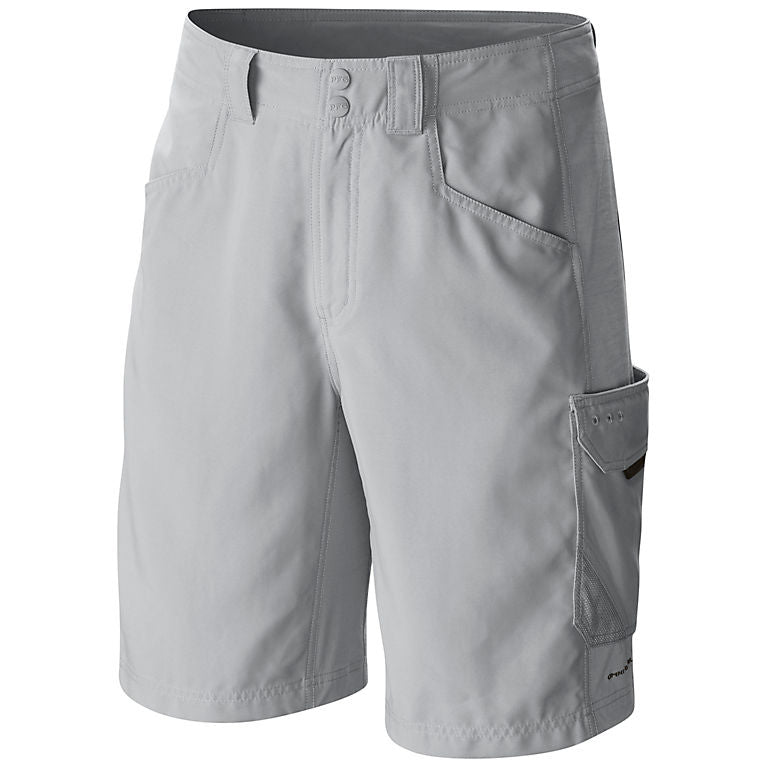 Columbia PFG Big Katuna II Mens Shorts Cool Grey
