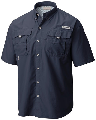 Columbia PFG Bahama II Short Sleeve Mens Shirt DK Mountain
