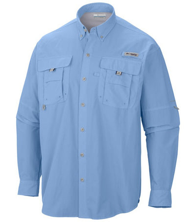 Columbia PFG Bahama II Long Sleeve Mens Shirt Sail