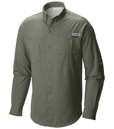 Columbia PFG Tamiami II Long Sleeve Mens Shirt Cypress