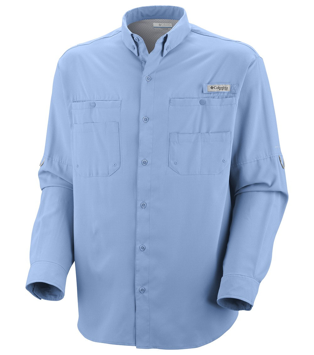 Columbia PFG Tamiami II Long Sleeve Mens Shirt Sail
