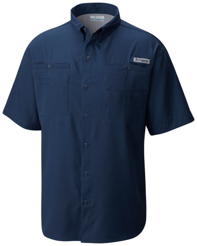 Columbia PFG Tamiami II Short Sleeve Mens Shirt Dark Mountain