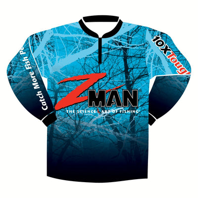 Zman Tournament Long Sleeve Adult Fishing Shirt