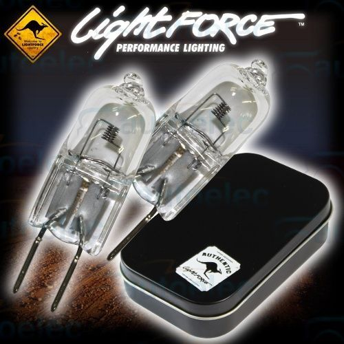 Lightforce 2 x 100W Halogen Horizontal Filament Globes - GL06T