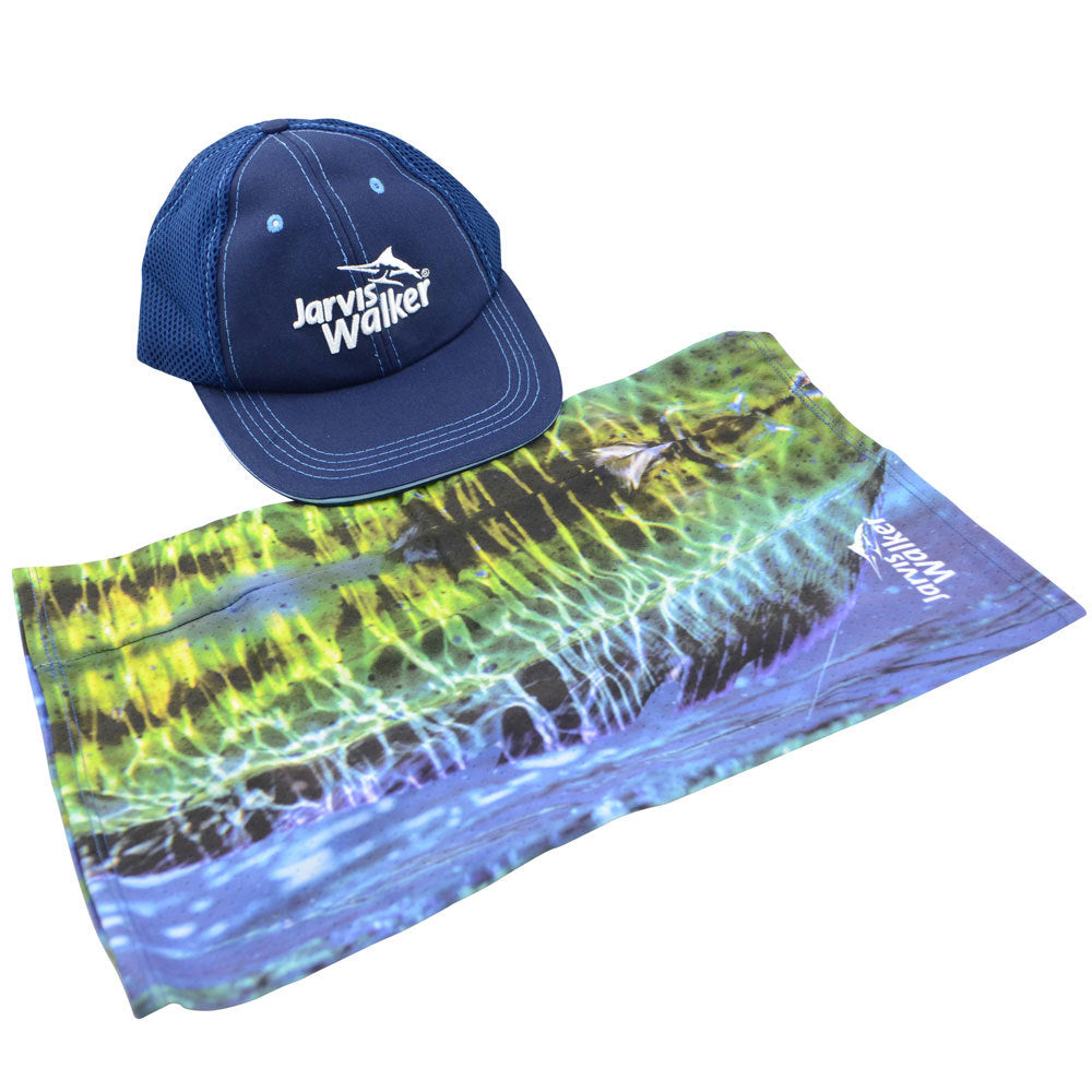 Jarvis Walker Fishing Cap and Multi Scarf Pack