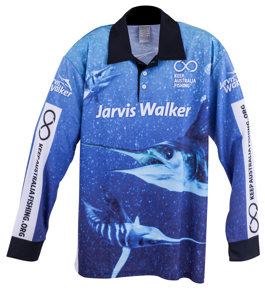 Jarvis Walker Tournament Long Sleeve Kids Fishing Shirt