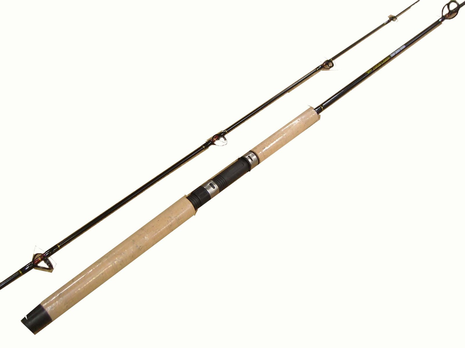 Jarvis Walker Black Queen Deluxe Solid Glass Spin Rod - 8ft