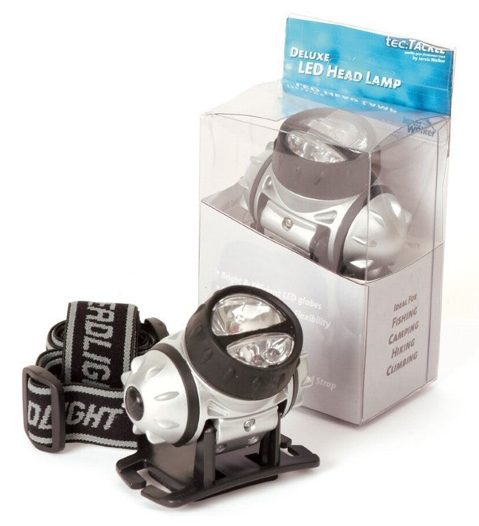 Jarvis Walker Deluxe LED Head Lamp