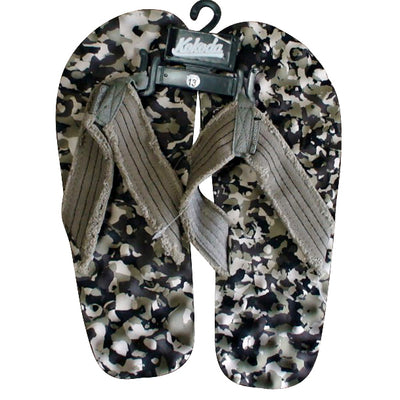 Kokoda Knobby Thongs Camo Grey