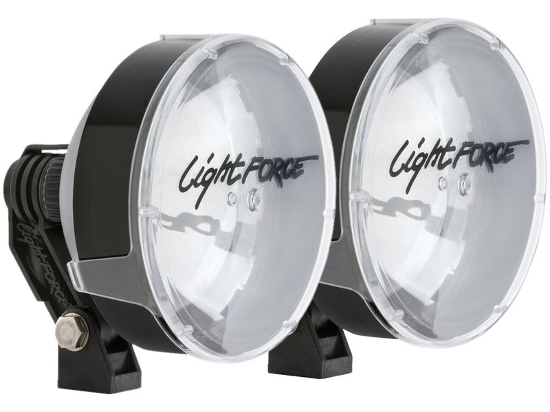 Lightforce Genuine Pair Striker Halogen 170mm 100W 12V Driving Lights