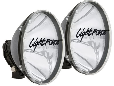 Lightforce Genuine Pair Blitz 240 100W 12V Halogen Driving Lights - RMDL240T