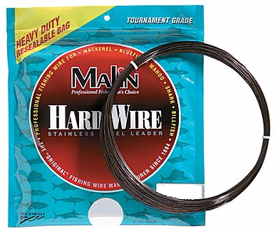Malin Hard Single Strand Stainless Steel Wire Leader