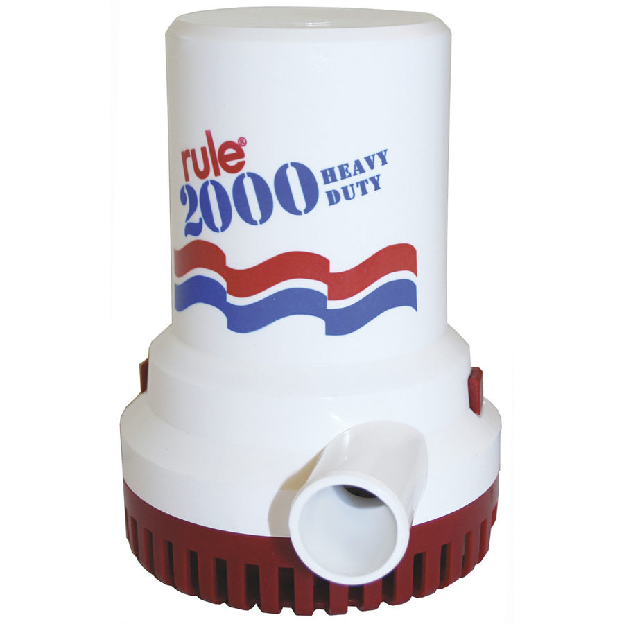 Rule 2000 GPH Bilge Pump - 12V