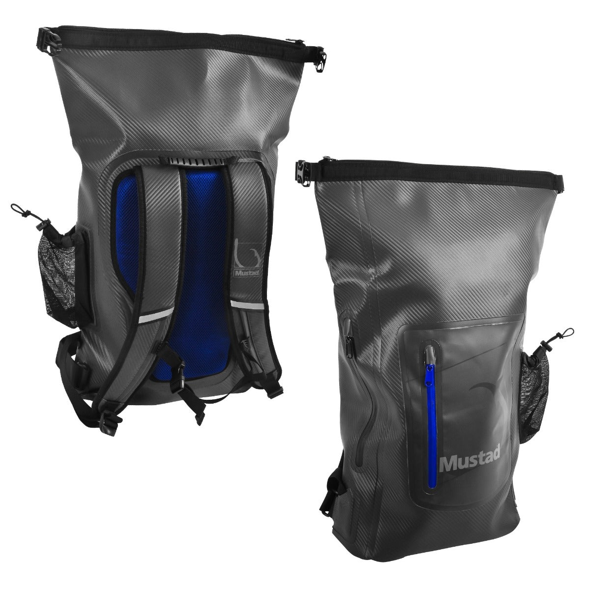 Mustad Dry Backpack 30 Litre Grey