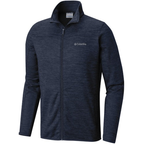 Columbia Birch Woods II Full Zip Mens Fleece Navy