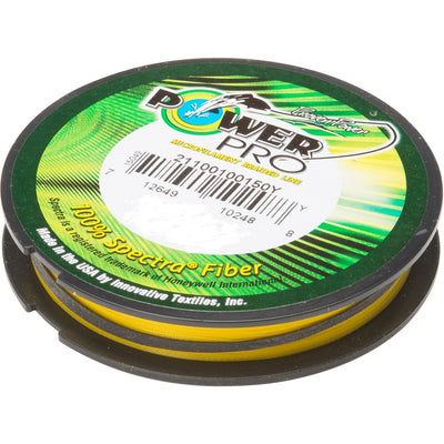 Power Pro Hi-Vis Yellow 500yd Braided Fishing Line