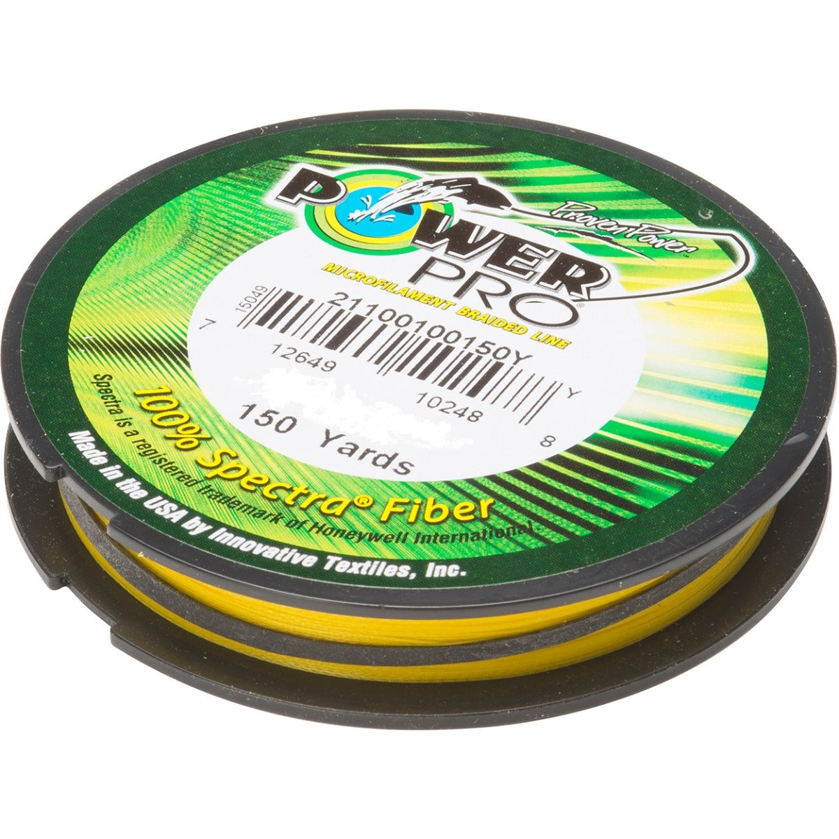 Power Pro Hi-Vis Yellow 150yd Braided Fishing Line