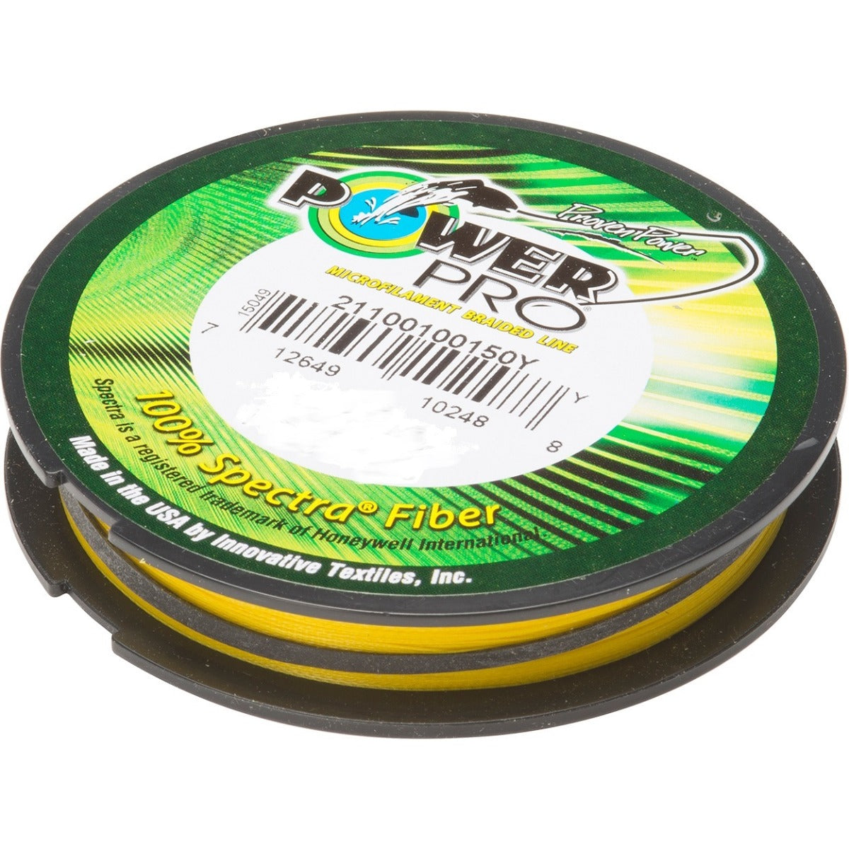 Power Pro Hi-Vis Yellow 300yd Braided Fishing Line