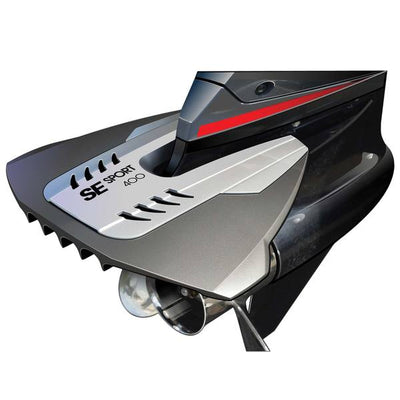 SE Sport 400 High Performance Curved Turbo No Drill Hydrofoil - Black and Grey