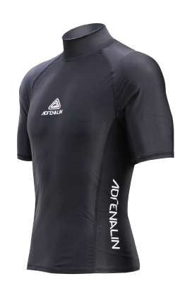 Adrenalin Rash Vest Short Sleeve Adult