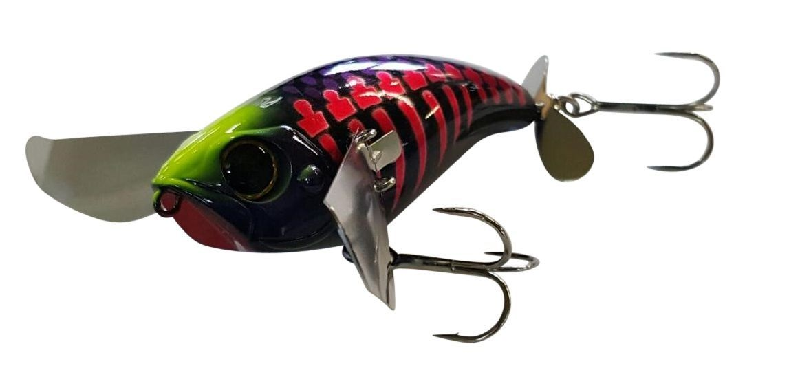 Jackall Pompadour 79mm Topwater Fishing Lure