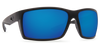 Costa Del Mar Reefton Blackout Frame Polarised Sunglasses