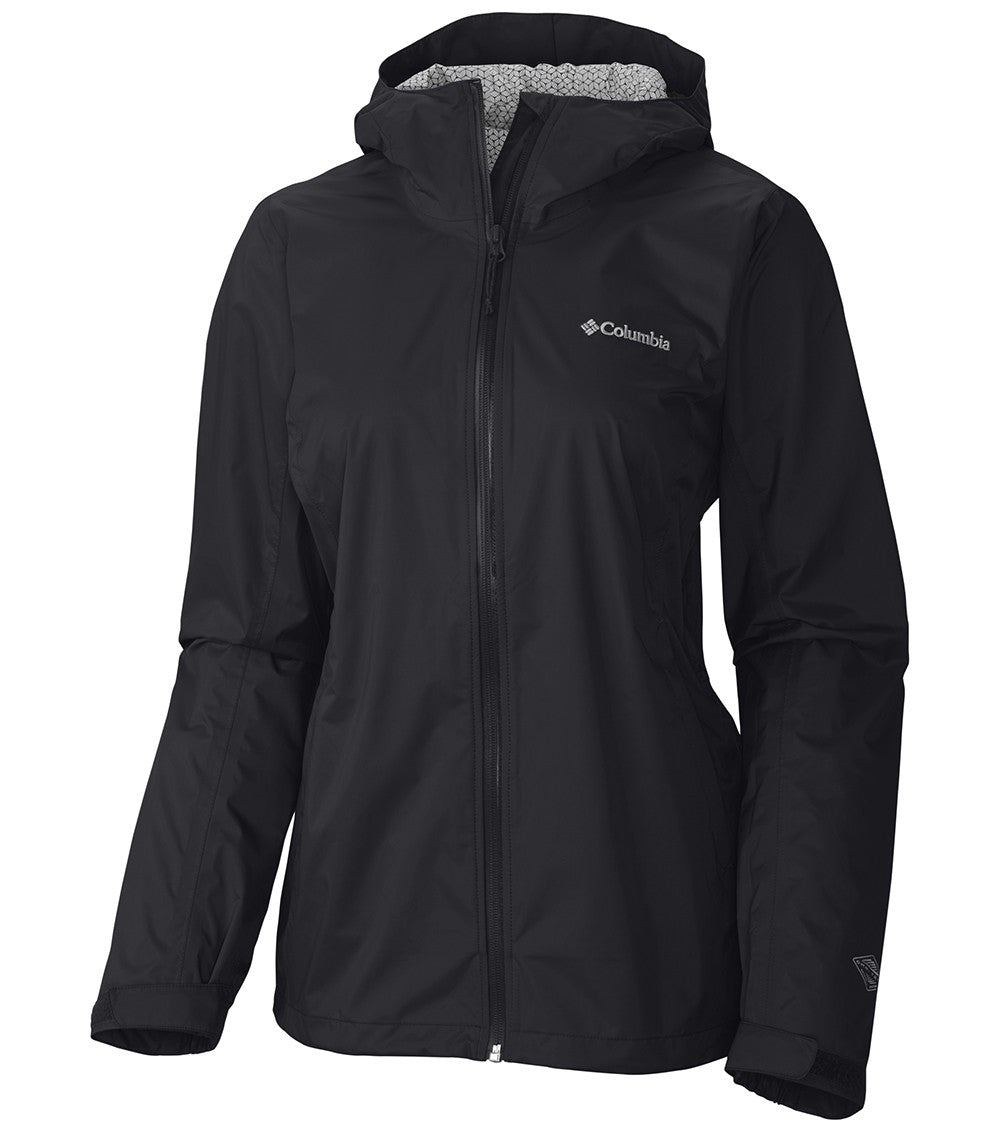 Columbia Evapouration Womens Rain Jacket Black