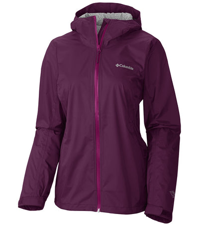 Columbia Evapouration Womens Rain Jacket Raspberry