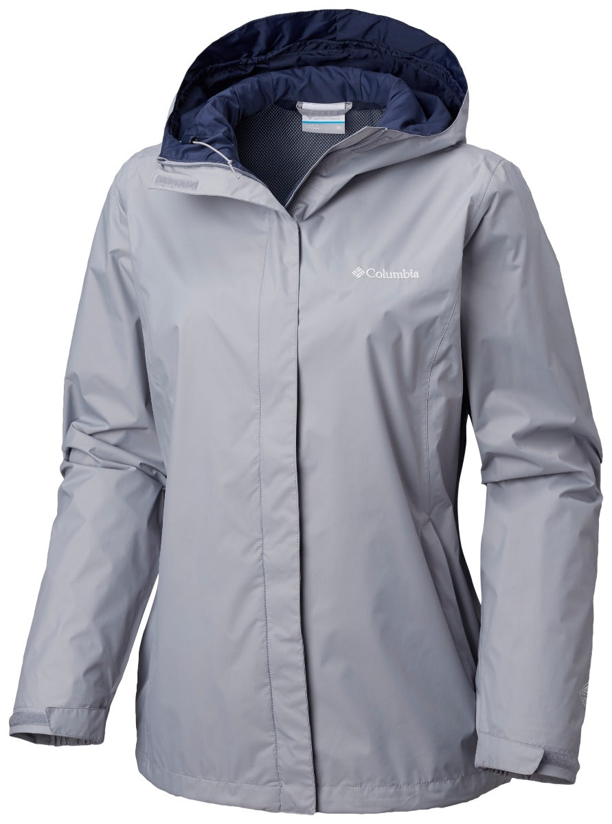 Columbia Arcadia II Womens Rain Jacket Astral