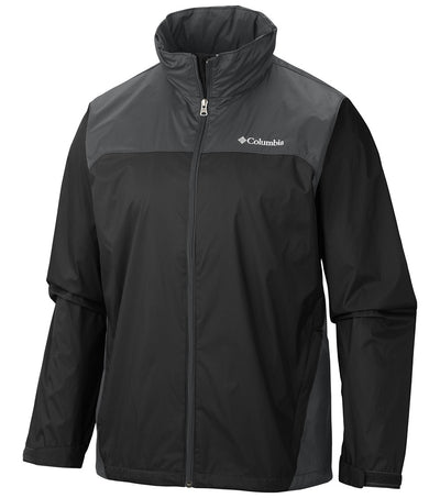 Columbia Glennaker Lake Rain Jacket Mens Black - Small