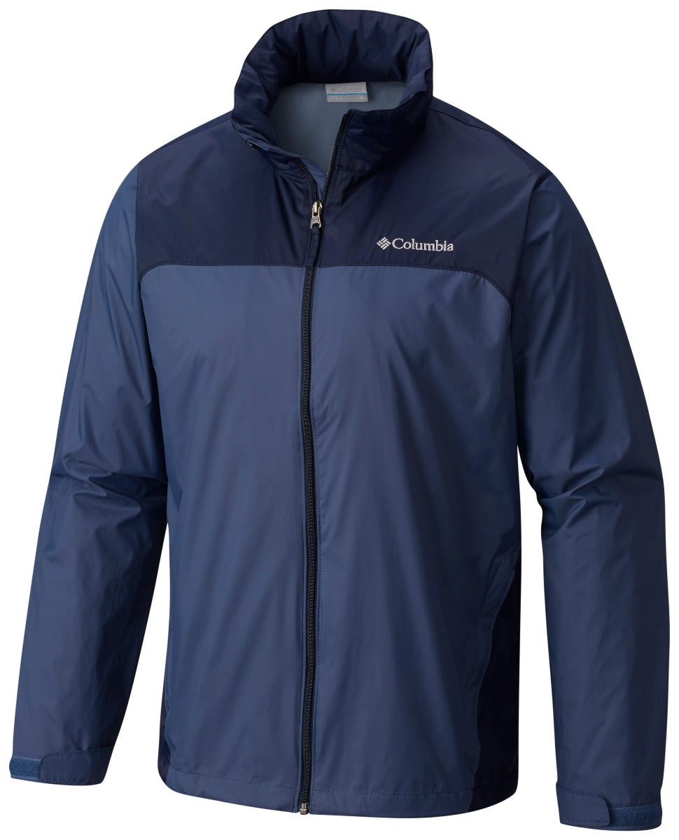 Columbia Glennaker Lake Rain Jacket Mens Dark Mountain