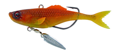 Chasebaits Rip Snorter 90mm Weedless Soft Vibe Lure