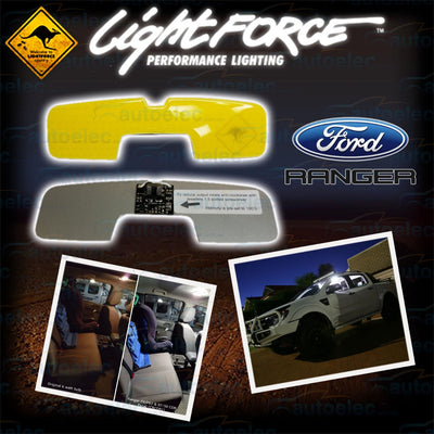 Lightforce Genuine LED Interior Light Upgrade Kit BT50 4300K - CBC0B1