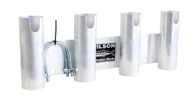 Wilson Aluminium 4 Hole Bull Bar Rod Holder