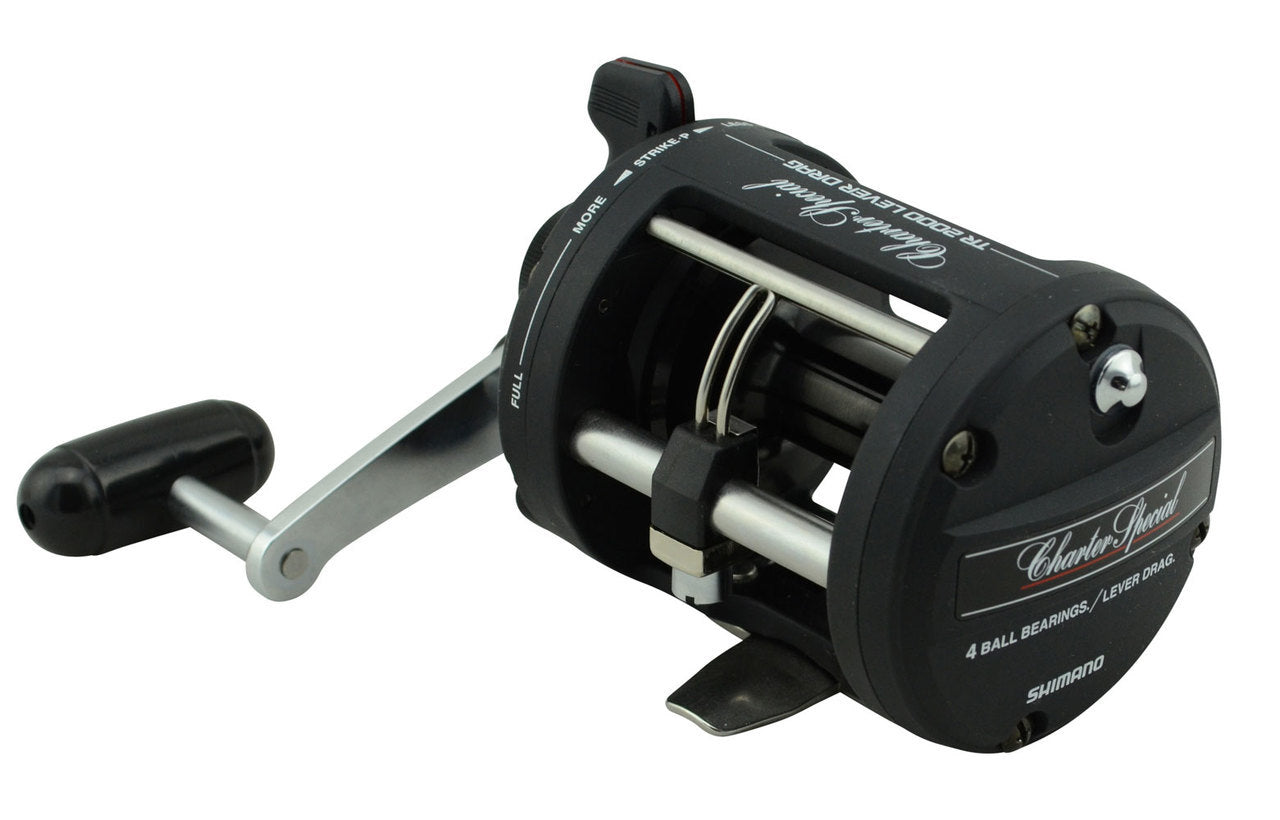 Shimano Charter Special Overhead Reel - TR200LD