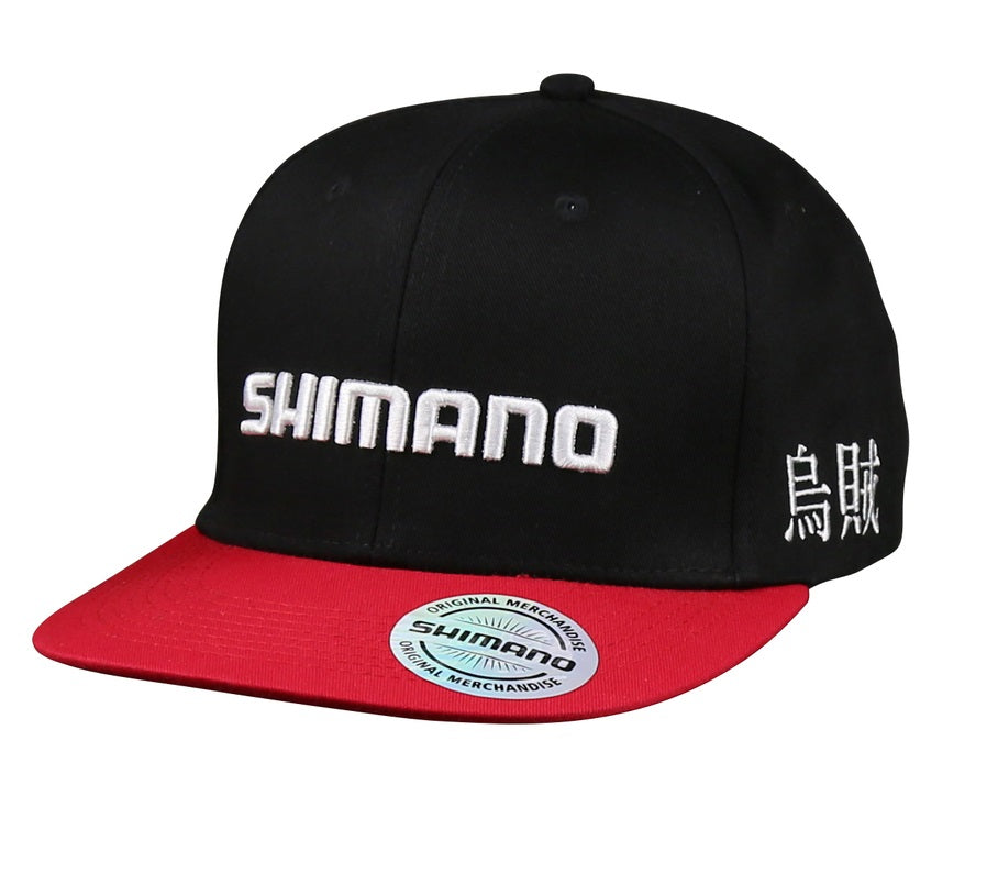 Shimano Sephia Kanji Cap - Black and Red
