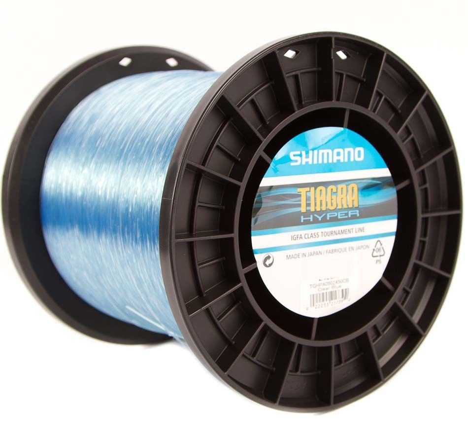 Shimano Tiagra Hyper Clear Blue Mono Game Fishing Line - 1000m
