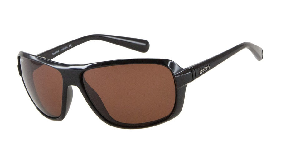 Spotters Polarised Sunglasses Swift Black Frames Penetrator Lenses